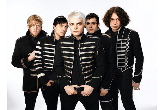 MY CHEMICAL ROMANCEの「welcome to the black」
